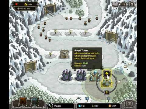 Kingdom Rush - Coldstep Mines (Level 7) - Iron Challenge - Normal Difficulty