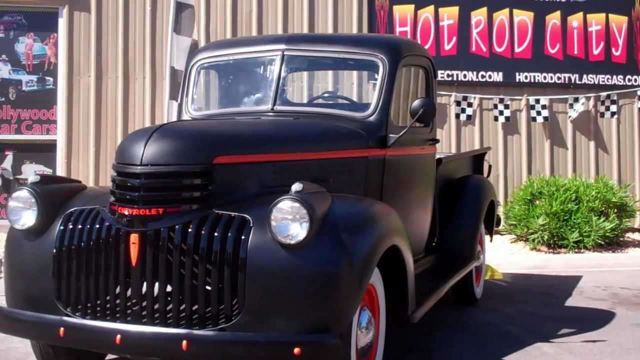 Truck 1940 chevy truck for sale : 1945 Chevy 1/2 Ton Pickup - YouTube