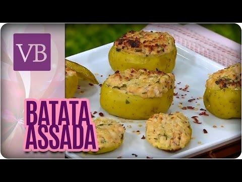 Batata recheada com Atum - Você Bonita (11/10/16)