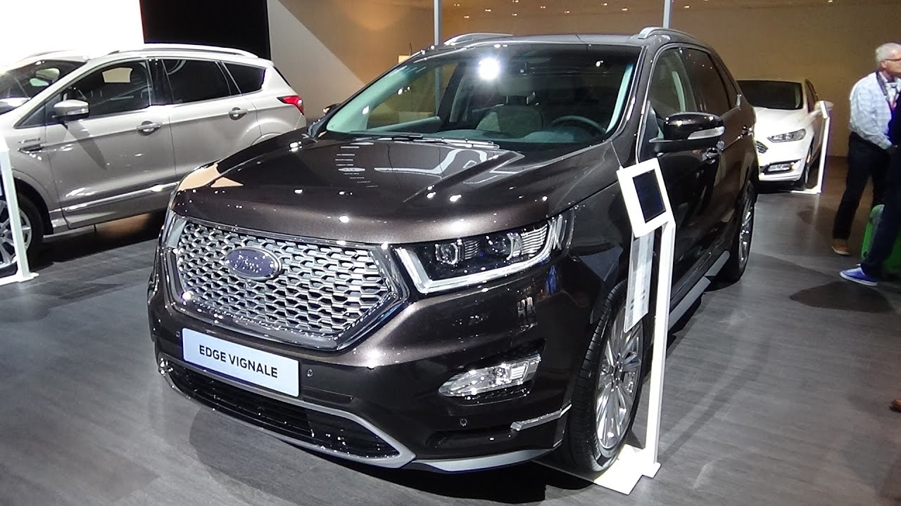 2017 Ford Edge Vignale Exterior And Interior Auto Show Brussels