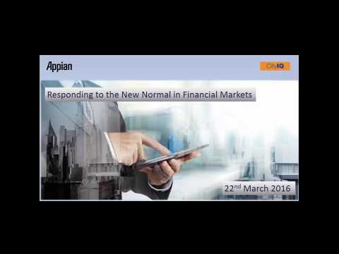 Responding to the New Normal in Financial Markets
