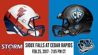 Sioux Falls Storm at Cedar Rapids Titans
