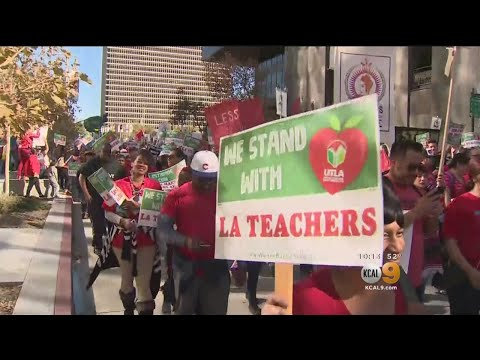 LAUSD Teachers Inching Closer To Strike As Contract Dispute Continues