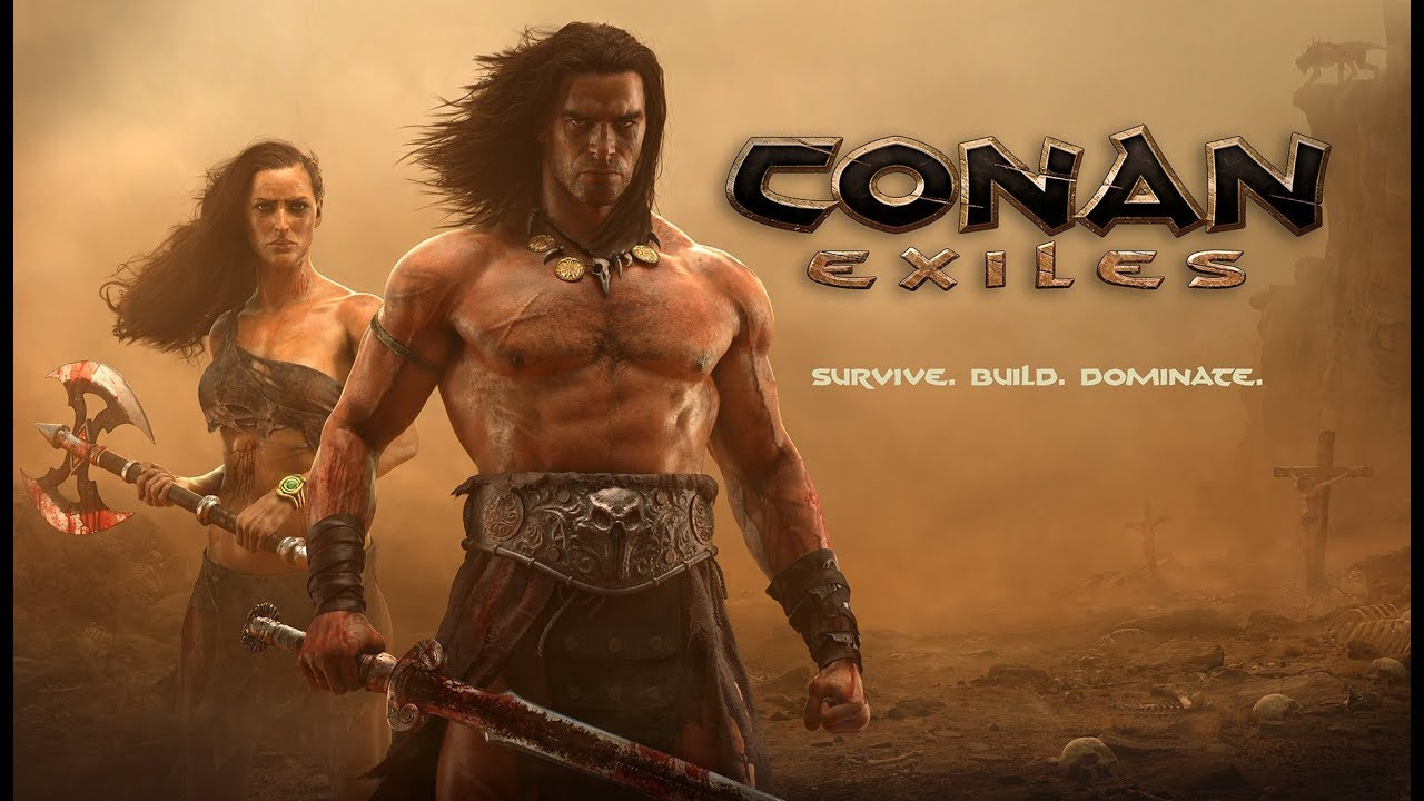 Conan Exiles Gameplay With Friends (PS4 PRO) Interactive