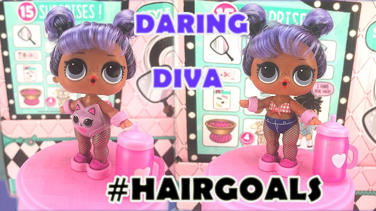 Lol surprise hairgoals makeover series 5 unboxing ball placement weight hack daring diva youtube - Diva lol surprise ...