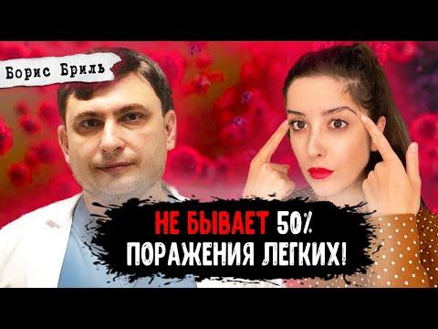 Доктор Бриль: мифы о лечении ковида, ошибки российских врачей