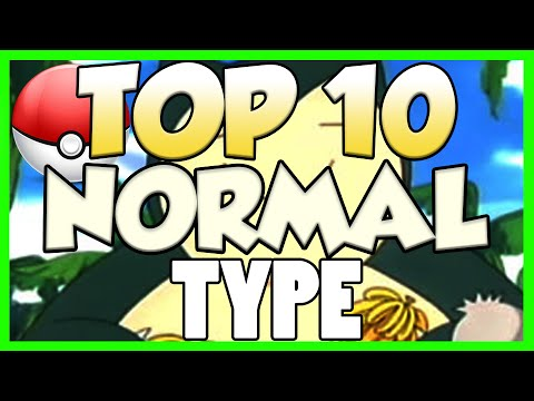 Top 10 Normal Type Pokemon! Normal Type Pokemon Facts, Stats, and Trivia!
