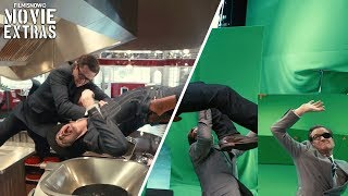 "Kingsman: The Golden Circle ""Fight Over Briefcase"" - VFX Breakdown by Imageworks (2017)"