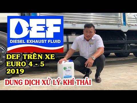 Dung dịch xử lý khí thải DEF trên xe tải ga điện là gì? [TẬP 4: Vlog Kiến thức xe tải]