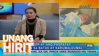 Unang Hirit: Lalaki, kritikal ang lagay matapos sinadya umanong banggain ng tricycle