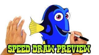 Dory (Finding Dory)- Speed Draw Preview