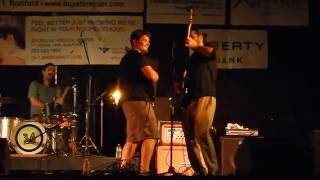 "The 34s ""Psycho Killer"" (cover) at Musicians Showcase, Branford, CT 8/26/16"