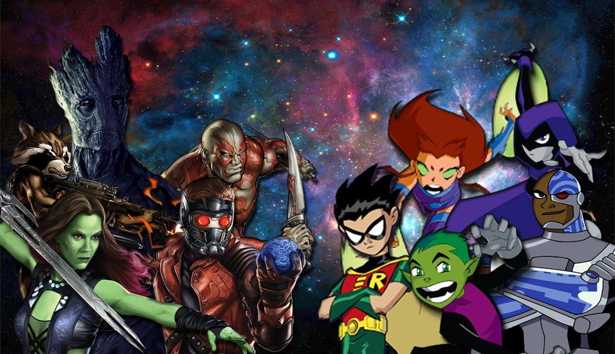 Smite Animated Wallpaper Teen Titans Vs Guardians Of The Galaxy Epic Rap Battles