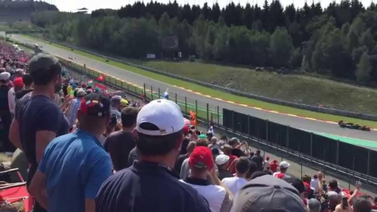 Formula 1 Spa 2015 Bronze Viewpoints Youtube