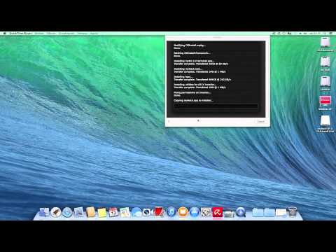 | Actualizar  OS X 10.8 a  OS X Mavericks 10.9 |  (Hackintosh)