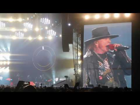 Paradise City Final Firework // Guns N' Roses live in Hannover, 22.06.2017