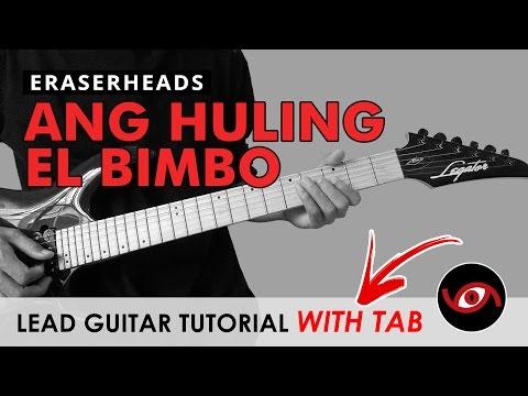 Ang Huling El Bimbo - Eraserheads Lead Guitar Tutorial (WITH TAB) Improvised Ending