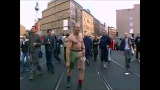 Techno Viking vs Bounce by the Ounce dude