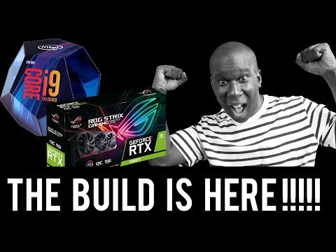 The 9900K BUILD IS HERE - AND  ITS PRETTY EXTREME 😱