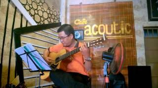 Thành phố mưa bay -  Bằng Giang - Guitar Cover