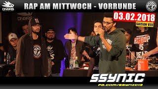 RAP AM MITTWOCH DÜSSELDORF: 03.02.18 Vorrunde feat. SSYNIC, JOLLE, MC GEUNER uvm. (2/4)