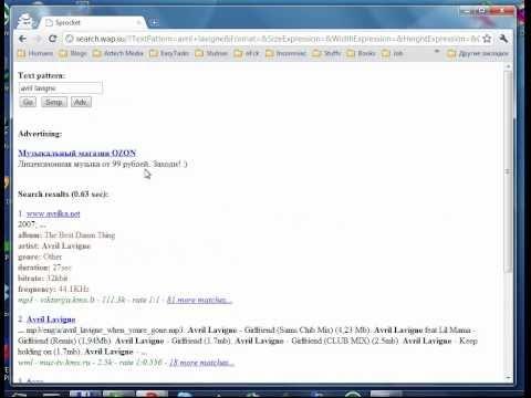 Andrew N. Markin - WAP Search Engine (Sprocket)