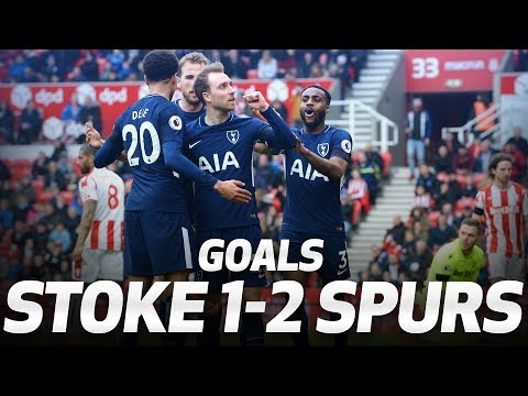 GOALS | STOKE CITY 1-2 SPURS