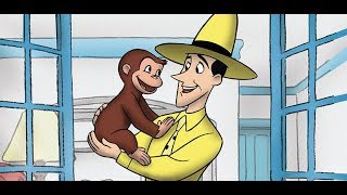 Curious George || George Cleans Up || Cartoons For Children