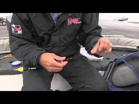 Rigging A Split Shot Sinker - Bullet Weights Split Shot