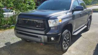 Tundra Front Bumper Removal and PlastiDip Project 4