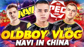 NAVI OldBoy's Vlog - PUBGM Tournament in China (PEC 2020)