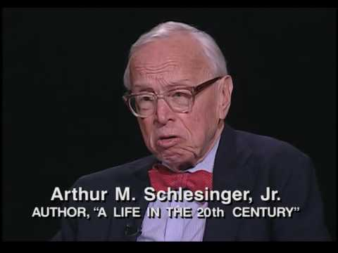 "The Open Mind: Arthur M. Schlesinger, Jr. / ""A Life In The 20th Century"""