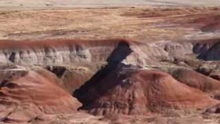 The Painted Desert in Arizona