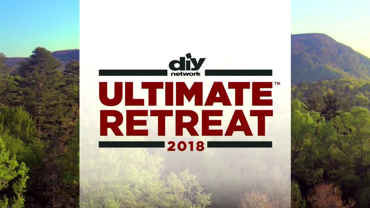 diy network ultimate retreat 2018 see the location youtube. Black Bedroom Furniture Sets. Home Design Ideas