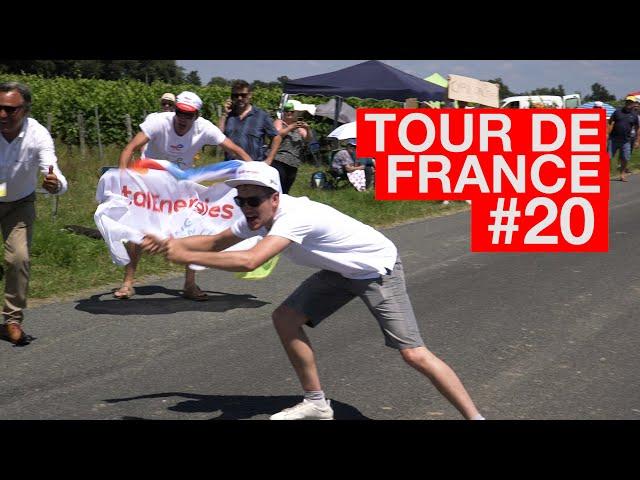21.07.17 En immersion avec le Team TotalEnergies  - Tour de France #20
