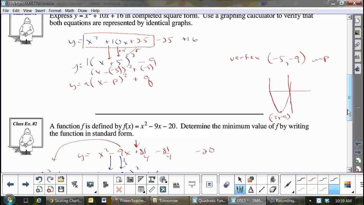 U5l5 converting from general form to standard form by completing the u5l5 converting from general form to standard form by completing the square falaconquin