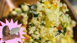Tabulè - Tabbouleh - Ricetta con Verdure
