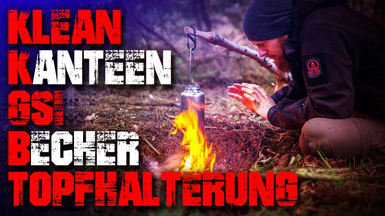 Klean kanteen gsi becher topfhalterung test review german