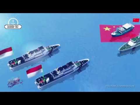 Indonesia vạch trần luận điệu của Trung Quốc trên biển Đông