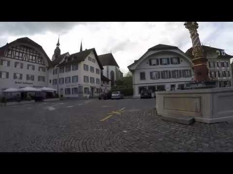 STREET VIEW: Altstadt von Zofingen in SWITZERLAND
