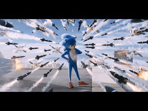 Соник в кино 6+ трейлер №2 короткий рус Sonic the Hedgehog
