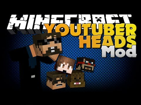 Minecraft Mod - YouTuber Heads Mod - Blocks That Give Effects