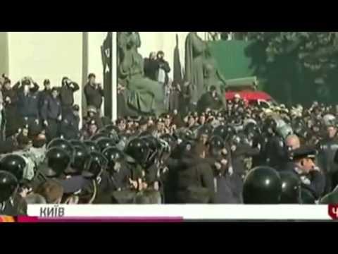 Новости Украины  В Киеве сегодня начались погромы