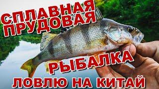 Сплавная прудовая рыбалка | Ловлю окуня и щуку на приманки с AliExpress | Джиг в июле