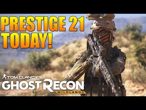 Afternoon Ghost War Entertainment | Hitting Prestige 21 TODAY! | Ghost Recon Wildlands PVP