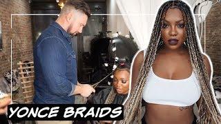 Beyonce Inspired Braids : #AshBlondeBraids Brownie Approved