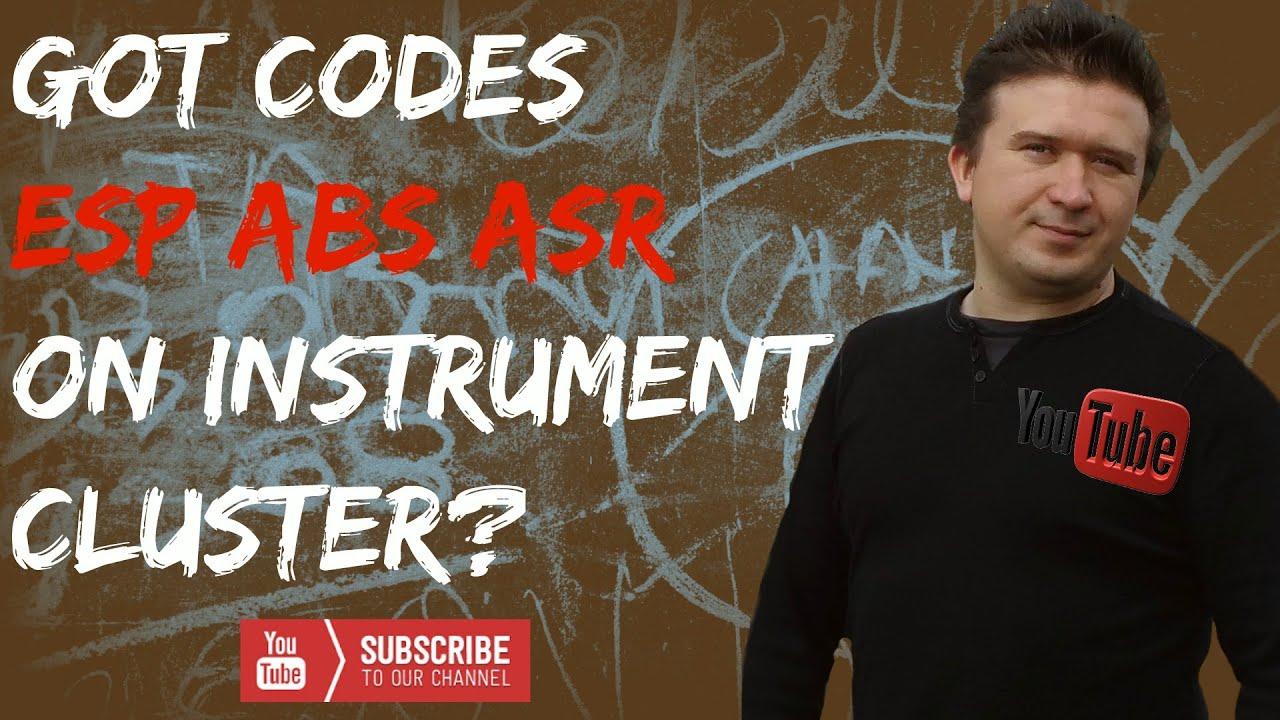 Mercedes Sprinter Series Code on Dash ESP ABS Traction