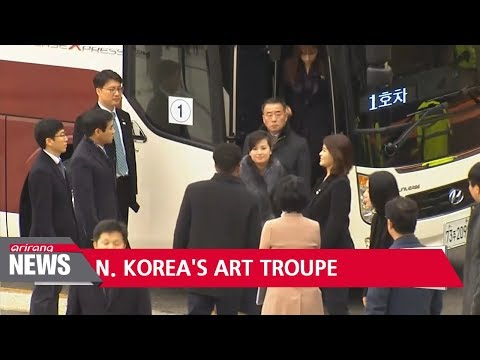 North Korea's art troupe to use ferry to travel to South Korea