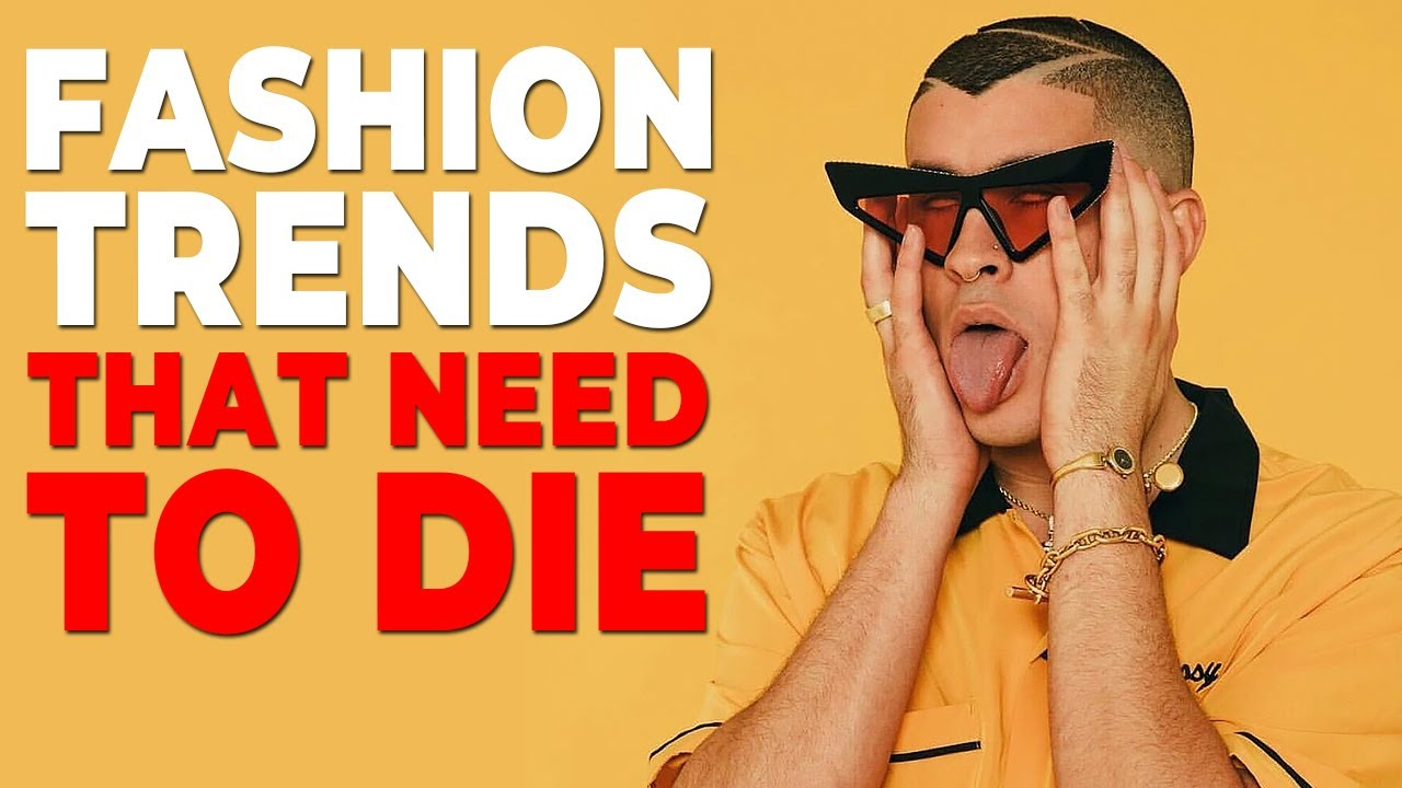 [VIDEO] - Men's Fashion Trends That Should DIE in 2019   Alex Costa 2