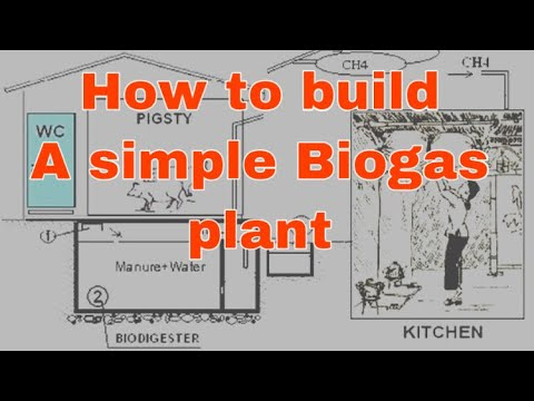 How to build a simple biogas plant (VACVINA model)